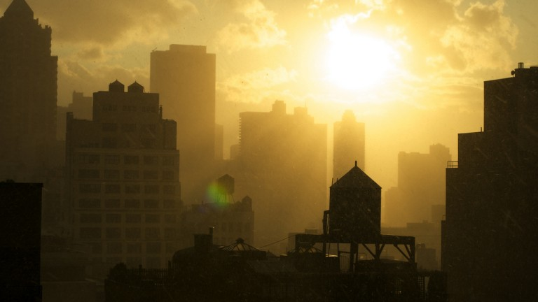 city-sunrise